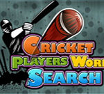 Cricket Players Word Search