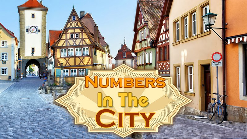 Image Numbers in the City